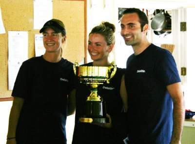 DARA, TASH, DANY AND OUR TROPHY