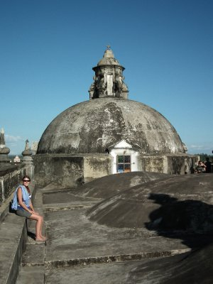 The domes on the cathedral room y mi