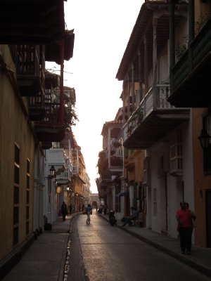 Balconies of Cartagena