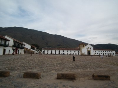 The church in the main plaza