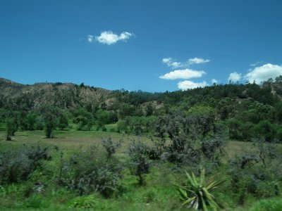 On the way to Bogota