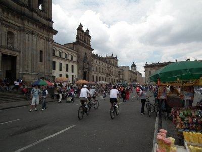 On your bike Bogota