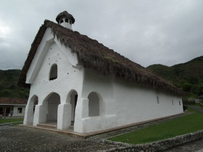 The thatched church of San Andrés