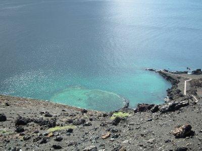 Underwater crater