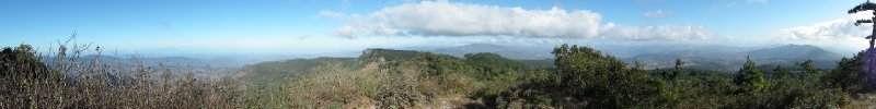 Tisey mirador, it was a 270 degree view