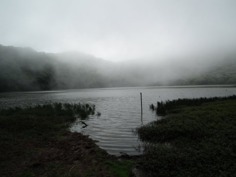 The eerie lake