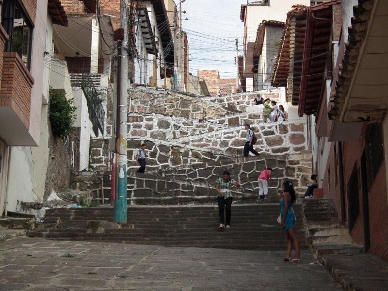 Walkway in San Gil