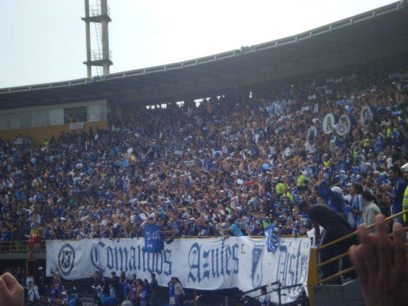 Commandos Azules - Millonarios fanatical fans
