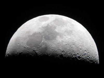 Maanen set fra Mamalluca Observatory