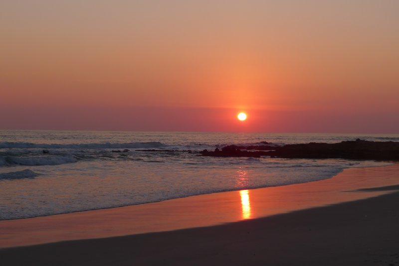 Santa Teresa sunset!