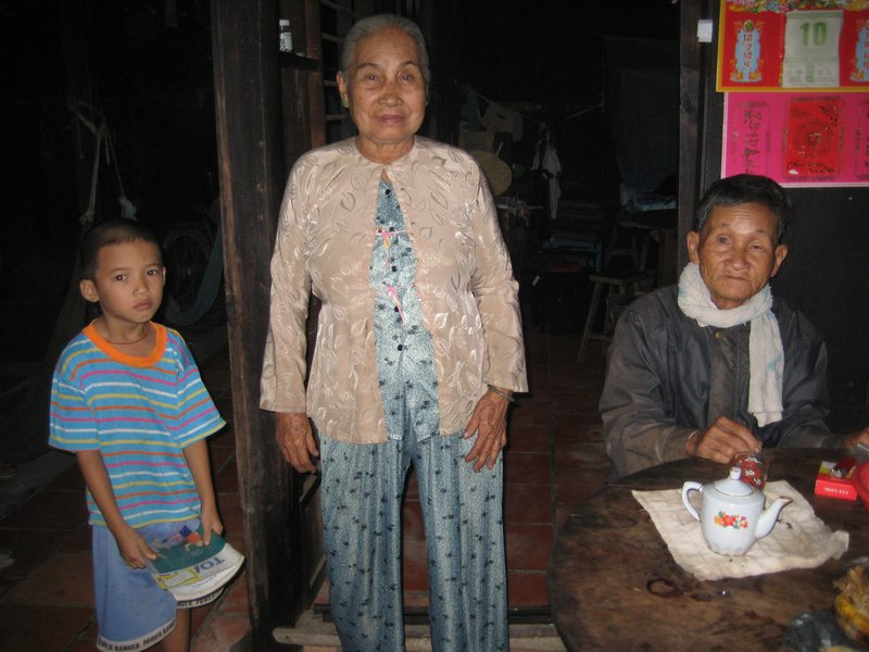 wise elders of the family home stay