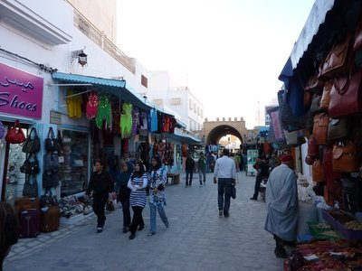 Tunis Street Scene