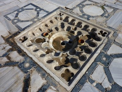 Great Mosque: Courtyard Drain
