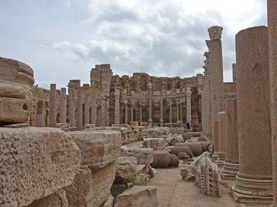 Leptis Magna: Severan Basilica