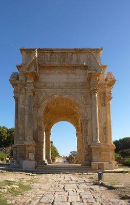 Leptis Magna:  Arch of Septimius Severus