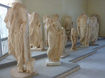 Leptis Magna: Headless Statues