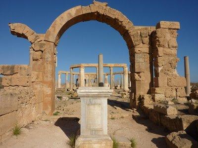 Leptis Magna: Market