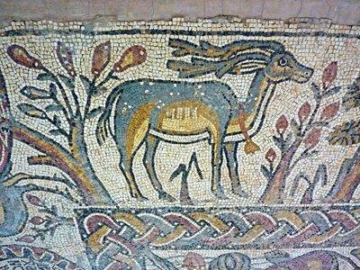 Qasr Libya Mosaic