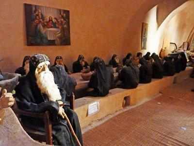 Deir as-Suriani: Monks round the Table