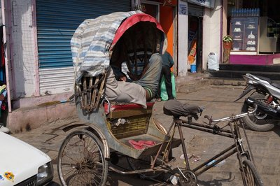 Rickshaw at Rest