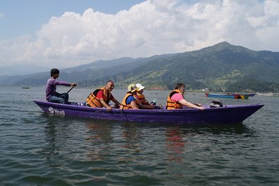 Boat Trip on the Lake