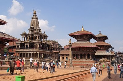 Krishna and Bishwanath Temples