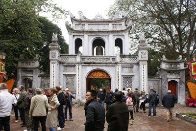 Temple of Literature Entrance Gate