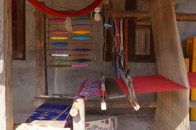 Loom with Bobbins