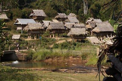 Rice Storage Huts