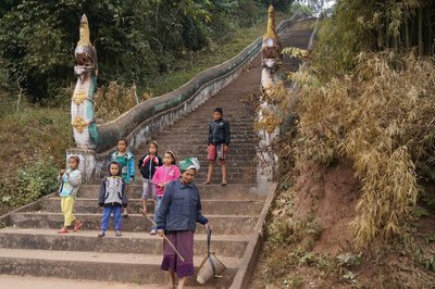 Steps with Nagas