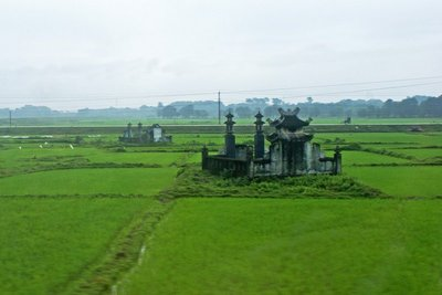 Tomb in Paddy Field