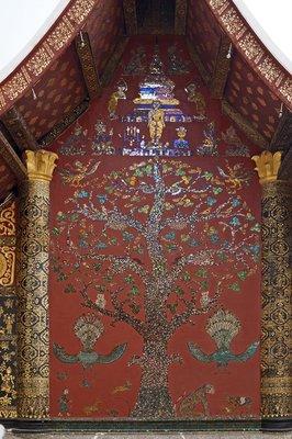 Flame Tree Mosaic