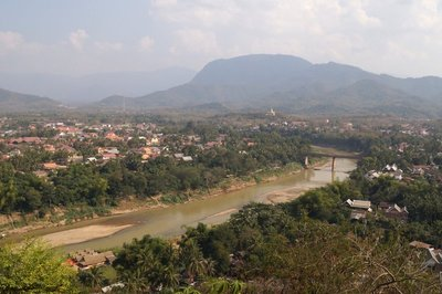 View from Phousi Sacred Hill