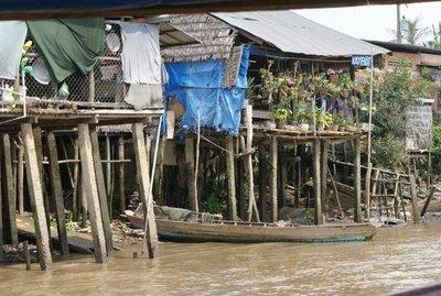 Mekong Delta - Houses on Stilts