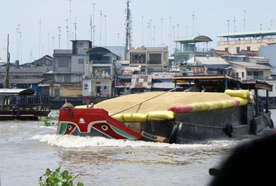 Mekong Delta - Boat with Eyes
