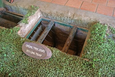 Cu Chi Tunnels - Booby-Trap