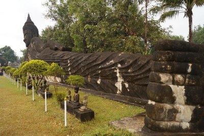Buddha Park Reclining Buddha