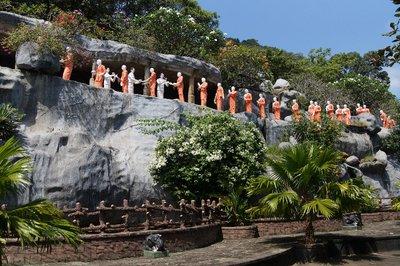 Monks' Statues