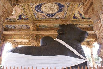 Brihadishwara Temple - Nandi Bull
