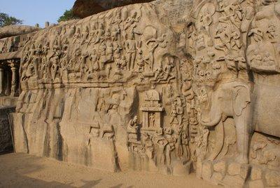 Bas-Relief Temple