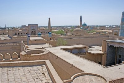 View over Khiva