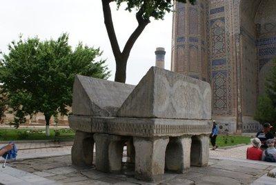 Bibi-Khanum Mosque Lectern