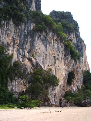 Krabi - Beach cliff
