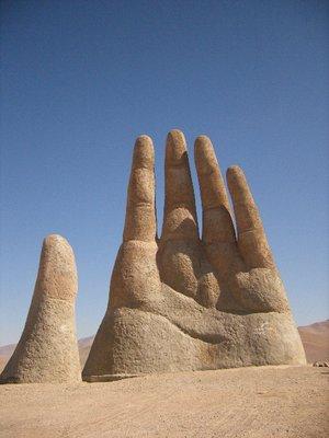 Atacama Desert - Hand