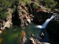 Kakadu - Gumlom falls - view from top