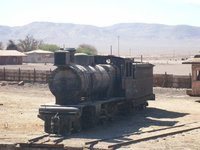 Atacama Desert - Train Cemetary