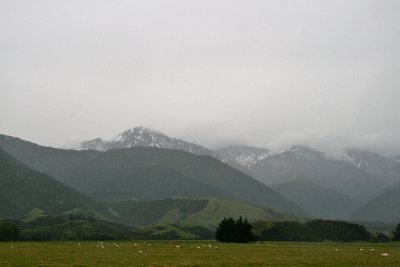 Mountains in Kaikoura