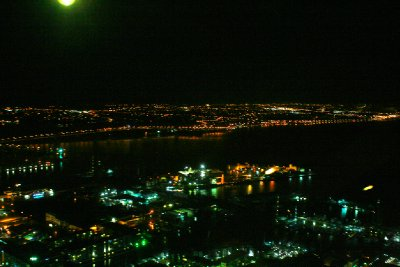 View from the top of the sky tower