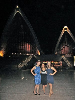 The girls at the Opera House