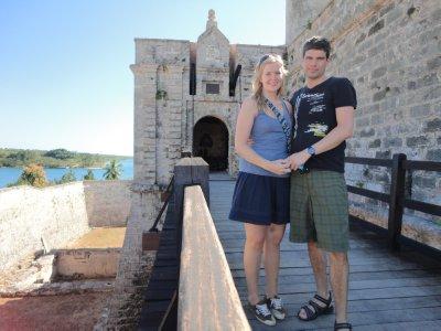 Parret på Castillo de Jagua2